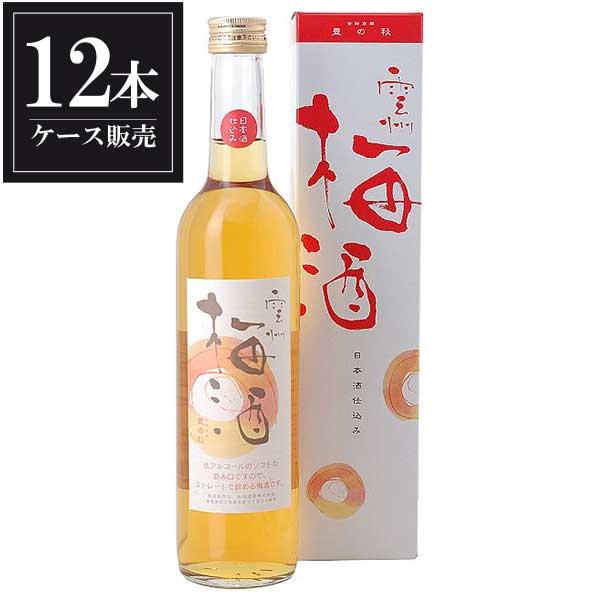 豊の秋 雲州梅酒 500ml x 12本 [ケース販売] [米田酒造/島根県 ]