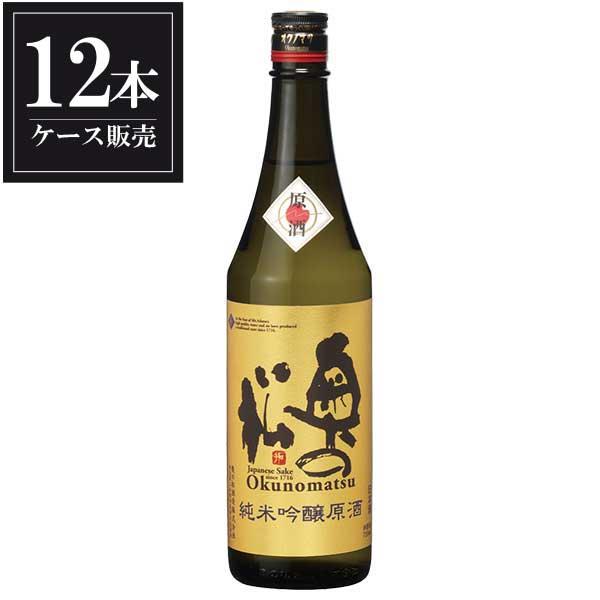 奥の松 純米吟醸 原酒 720ml x 12本 [ケース販売] [奥の松酒造/福島県 ]