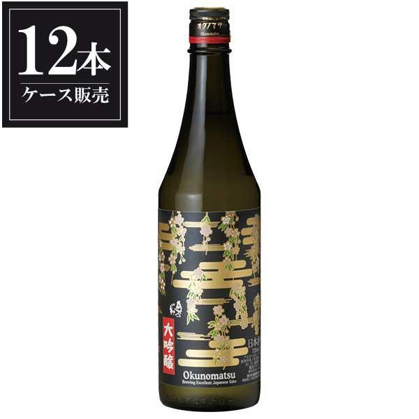 奥の松 大吟醸(さくらラベル) 720ml x 12本 [ケース販売] [奥の松酒造/福島県 ]