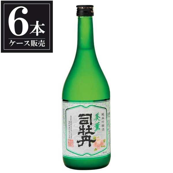 司牡丹 純米吟醸 美薫 720ml x 6本 [ケース販売] [司牡丹酒造/高知県 ]【母の日】