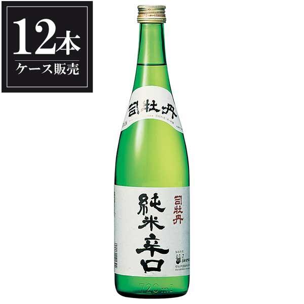 司牡丹 純米辛口 720ml x 12本 [ケース販売] [司牡丹酒造/高知県 ]