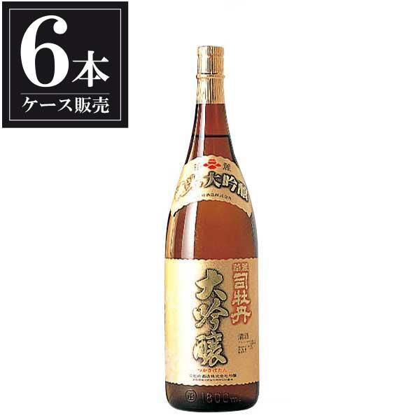 司牡丹 純米大吟醸 華麗 1.8L 1800ml x 6本 [ケース販売] [司牡丹酒造/高知県 ]