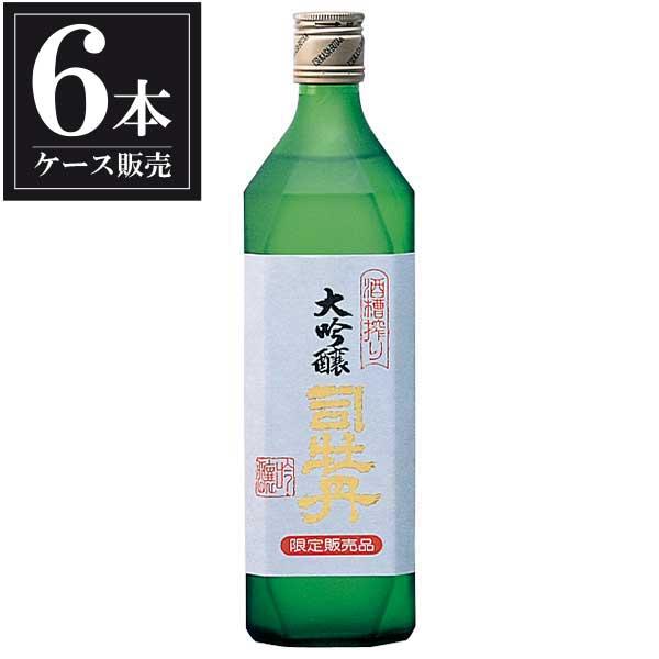 司牡丹 槽搾り 純米大吟醸 720ml x 6本 [ケース販売] [司牡丹酒造/高知県 ]【母の日】
