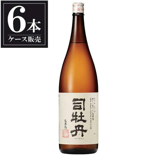司牡丹 米から育てた純米酒 1.8L 1800ml x 6本 [ケース販売] [司牡丹酒造/高知県 ]