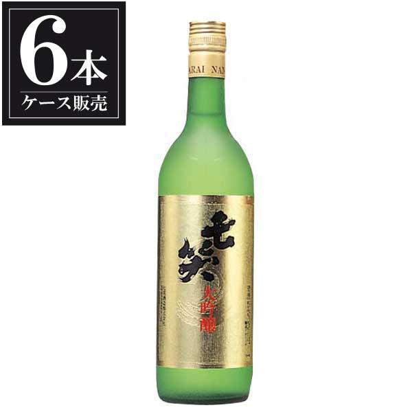 七笑 大吟醸 720ml x 6本 [ケース販売] [七笑酒造/長野県 ]