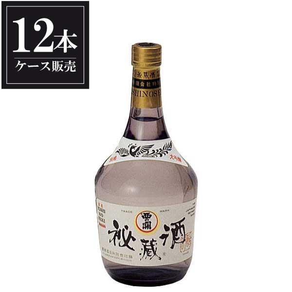 西の関 大吟醸 秘蔵酒 720ml x 12本 [ケース販売] [萱島酒造/大分県 ]