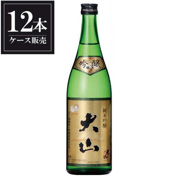 大山 純米吟醸 720ml x 12本 [ケース販売] [加藤嘉八郎酒造/山形県 ]