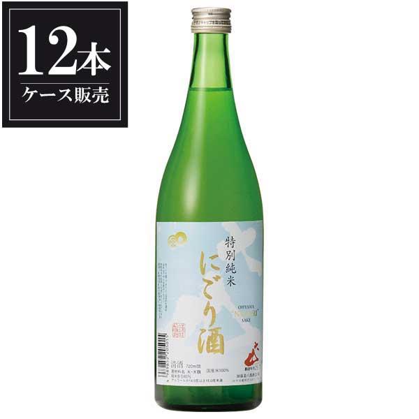 大山 特別純米 にごり酒 720ml x 12本 [ケース販売] [加藤嘉八郎酒造/山形県 ]