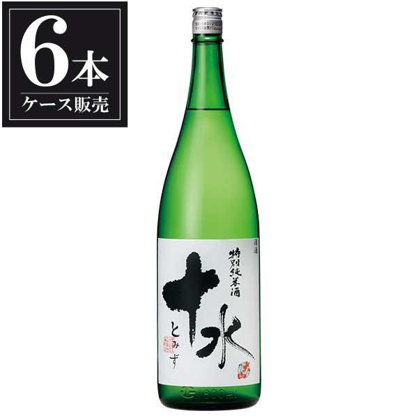 大山 特別純米酒 十水 1.8L 1800ml x 6本 [ケース販売] [加藤嘉八郎酒造/山形県 ]