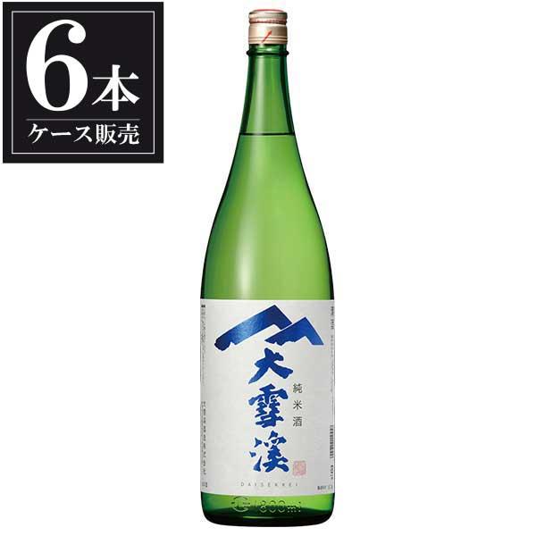 大雪渓 純米酒 1.8L 1800ml x 6本 [ケース販売] [大雪渓酒造/長野県 ]【母の日】