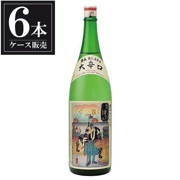 男山 純米酒 国芳乃名取酒 1.8L 1800ml x 6本 [ケース販売] [男山/北海道 ]
