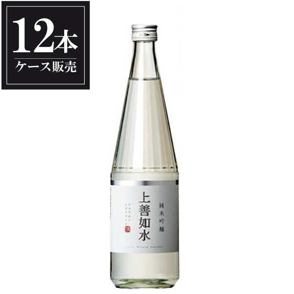 白瀧 上善如水 純米吟醸 720ml x 12本 [ケース販売] [白瀧酒造/新潟県 ]