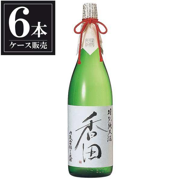 白嶺 香田 特別純米酒 1.8L 1800ml x 6本 [ケース販売] [ハクレイ酒造/京都府 ]【母の日】
