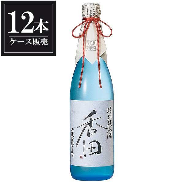 白嶺 香田 特別純米酒 720ml x 12本 [ケース販売] [ハクレイ酒造/京都府 ]【母の日】