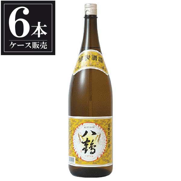 八鶴 金撰 1.8L 1800ml x 6本 [ケース販売] [八戸酒類(株)/青森県 ]【母の日】