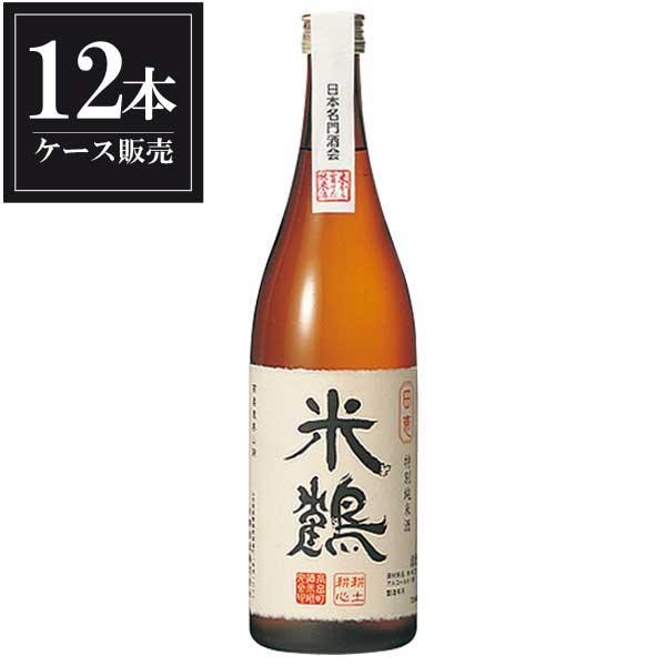 米鶴 特別純米 田恵 720ml x 12本 [ケース販売] [米鶴酒造/山形県 ]
