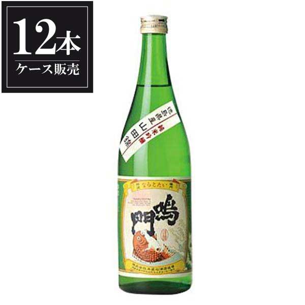 鳴門鯛 純米吟醸 720ml x 12本 [ケース販売] [本家松浦酒造/徳島県 ]