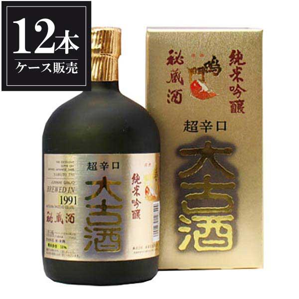 鳴門鯛 大古酒 720ml x 12本 [ケース販売] [本家松浦酒造/徳島県 ]【母の日】