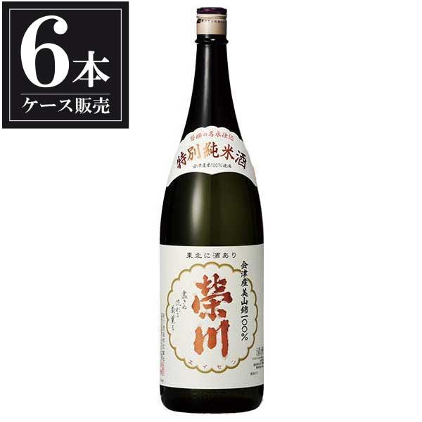 榮川 特別純米酒 1.8L 1800ml x 6本 [ケース販売] [榮川酒造/福島県 ]