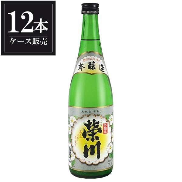 榮川 本醸造 720ml x 12本 [ケース販売] [榮川酒造/福島県 ]【母の日】
