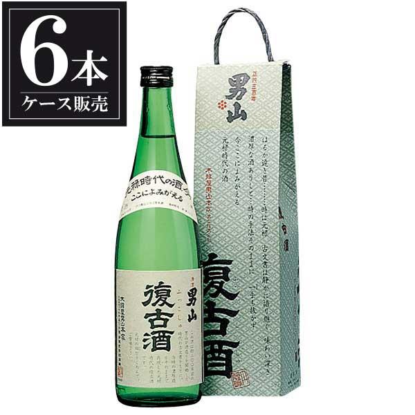 男山 純米 復古酒 720ml x 6本 [ケース販売] [男山/北海道 ]【母の日】