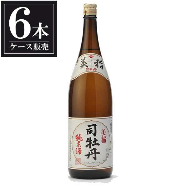 司牡丹 純米 美稲 1.8L 1800ml x 6本 [ケース販売] [司牡丹酒造/高知県 ]【母の日】