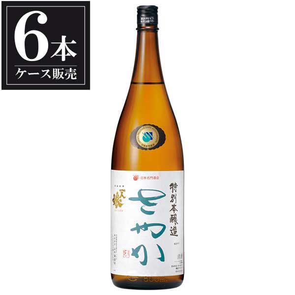 一人娘 特別本醸造 さやか 1.8L 1800ml x 6本 [ケース販売] [山中酒造/茨城県 ]【母の日】