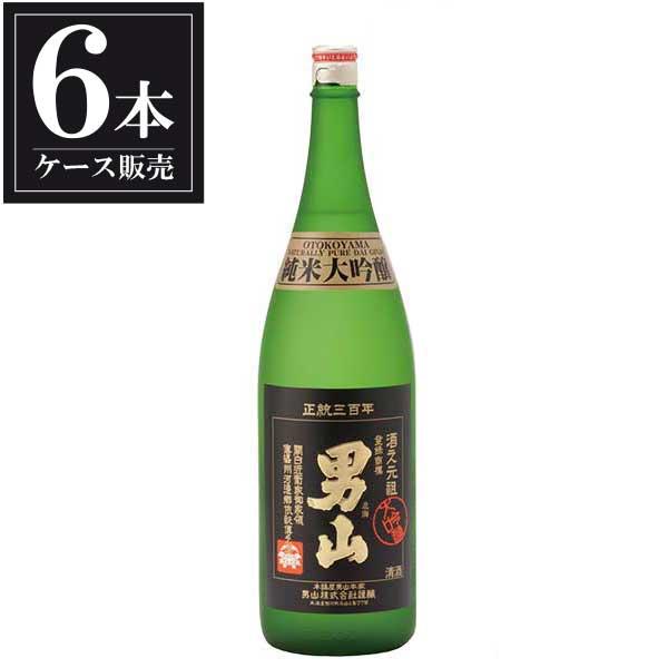 男山 純米大吟醸 1.8L 1800ml x 6本 [ケース販売] [男山/北海道 ]