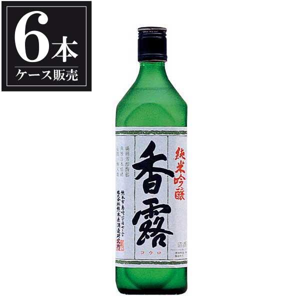 香露 純米吟醸 720ml x 6本 [ケース販売] [熊本県酒造研究所/熊本県 ]【母の日】