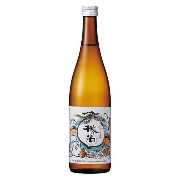 桃の滴 特別純米 720ml x 12本[ケース販売][岡永/松本酒造/京都府]【母の日】