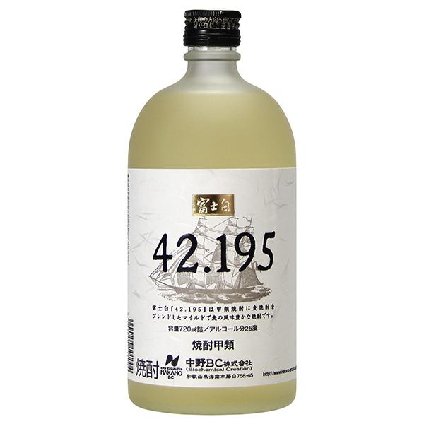 入荷予定 焼酎 distilled spirit sake 42.195 麦焼酎 720ml ギフト 中野BC サケ 和歌山県 酒 プレゼント 敬老の日 別倉庫からの配送