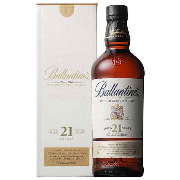 ウイスキー whisky 母の日 父の日 御中元 御歳暮 内祝い バランタイン21年 40度 [瓶] 700ml x 12本[ケース販売] 送料無料※(本州のみ)[ウイスキー/40度/イギリス/サントリー]