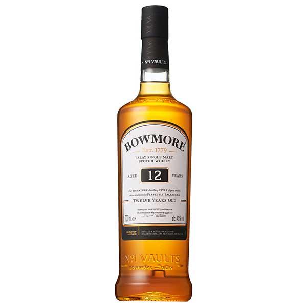 【限定割引クーポン配布中】ボウモア12年 40度 [瓶] 700ml x 6本[ケース販売][ウイスキー/40度/イギリス/サントリー]