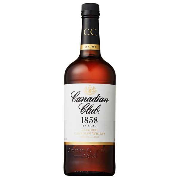カナディアンクラブ 40度 [瓶] 1L 1000ml x 12本[ケース販売][ウイスキー/40度/カナダ/サントリー]【母の日】