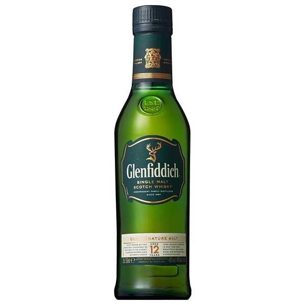 【送料無料】グレンフィディック12年 40度 [瓶] 350ml x 24本[ケース販売] 送料無料※(本州のみ)[ウイスキー/40度/イギリス/サントリー]