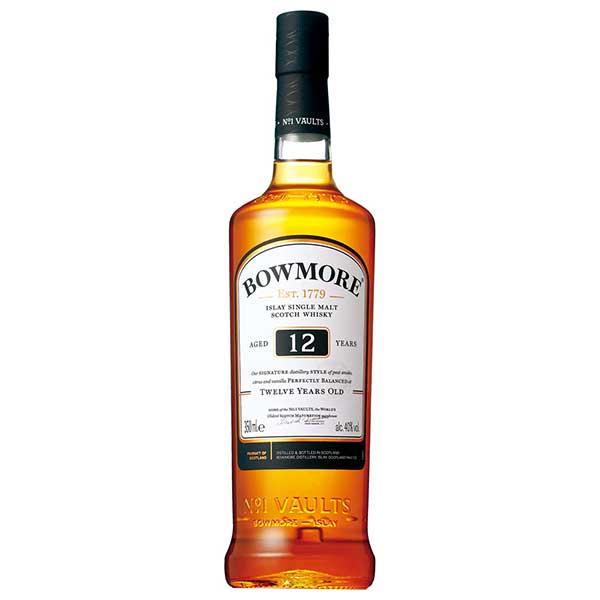 ボウモア 12年 40度 [瓶] 350ml x 12本[ケース販売][ウイスキー/40度/イギリス/サントリー]