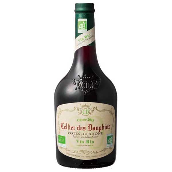 セリエ デ ドーファン コート デュ ローヌ オーガニック 赤 750ml x 12本 [UL/フランス/A.O.C.コート・デュ・ローヌ/赤ワイン/S2031]