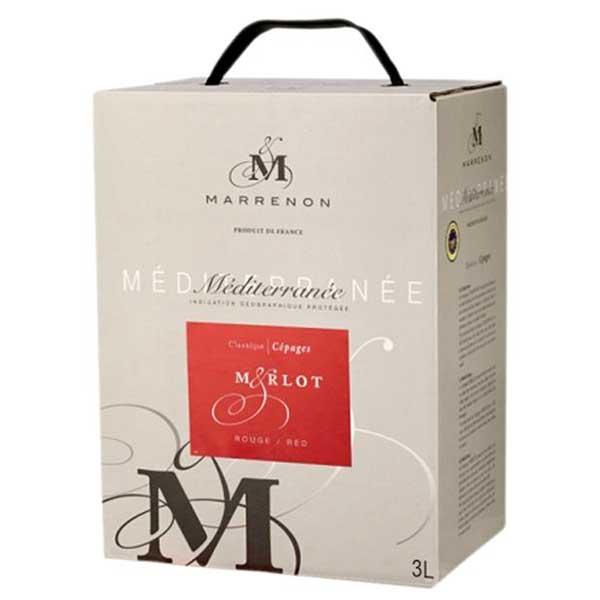 エル ジー アイ ワインズ メディテラネー メルロー 3L 3L 3000ml [三国/フランス/ローヌ/赤ワイン/ミディアムボディ/01167]