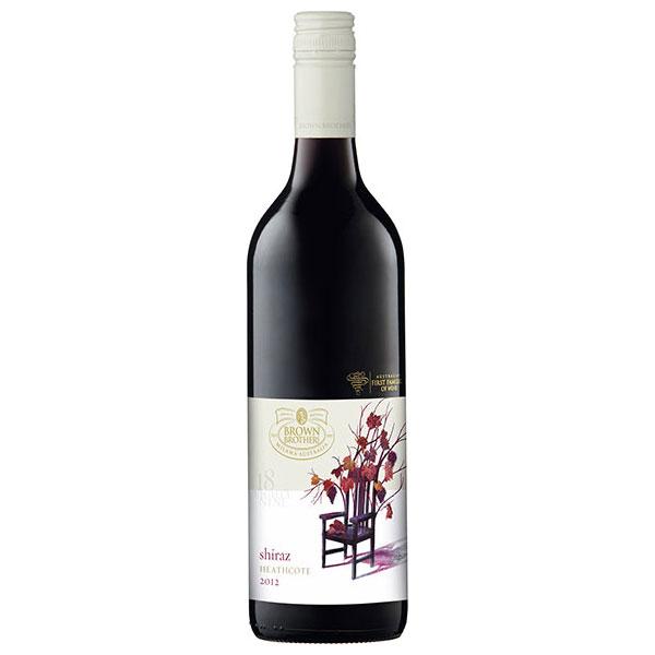 赤ワイン wine 10% ブラウン ブラザーズ シラーズ 春の新作続々 750ml NL オーストラリア 専門店 サケ 酒 ミディアムボディ プレゼント 2629BB061400 ヴィクトリア ギフト 敬老の日
