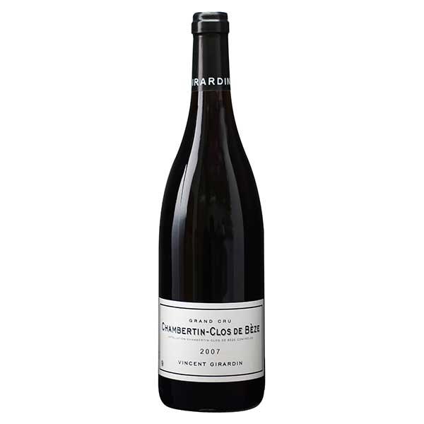 シャンベルタン クロ ド ベーズ グラン クリュ '07 750ml [稲葉/フランス/ブルゴーニュ/赤ワイン/フルボディ]