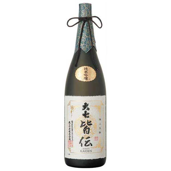 日本酒 お得クーポン発行中 japanese sake 母の日 父の日 御中元 御歳暮 ランキングTOP5 内祝い ギフト 1800ml 福島県 皆伝 大七 1.8L 純米吟醸 大七酒造