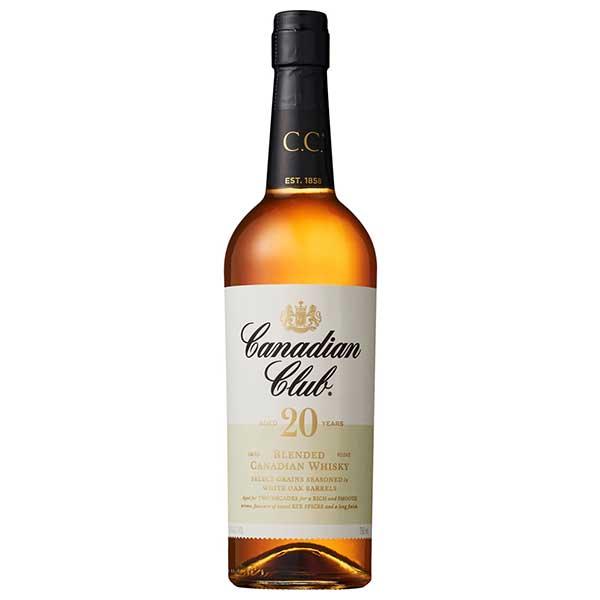 ウイスキー whisky 母の日 父の日 御中元 御歳暮 内祝い カナディアンクラブ20年 40度 瓶 ギフト 6本 サントリー 本州のみ ケース販売 カナダ 未使用品 x 送料無料 安心の実績 高価 買取 強化中 750ml