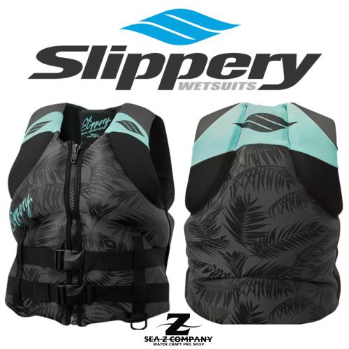 【SLIPPERY】 ELECTRA WMS NEO VEST BLACK MINT スリッパリー ライフベスト ネオプレーン レディース