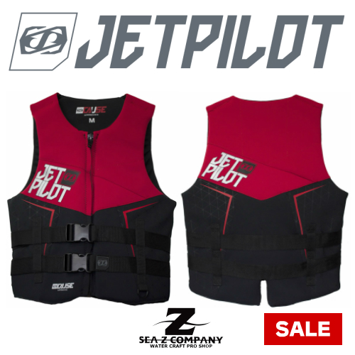 【SALE】【JETPILOT】 CAUSE NEO VEST・ネオベスト L・XL レッド JP8218J