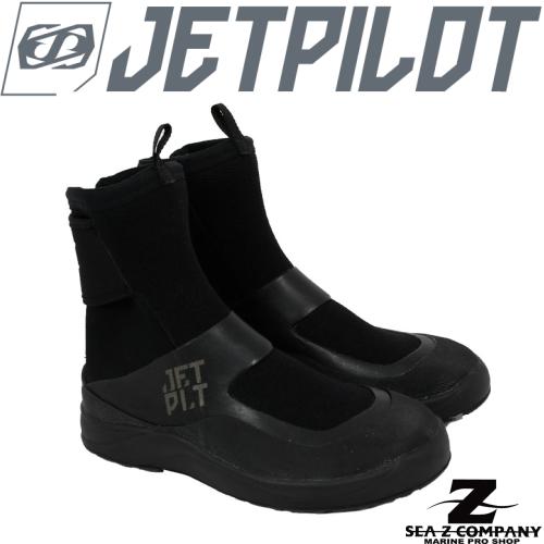 【送料無料】【JETPILOT】TURBO REAR ZIP BOOTS 2 ジェットパイロット マリンブーツ BLACK