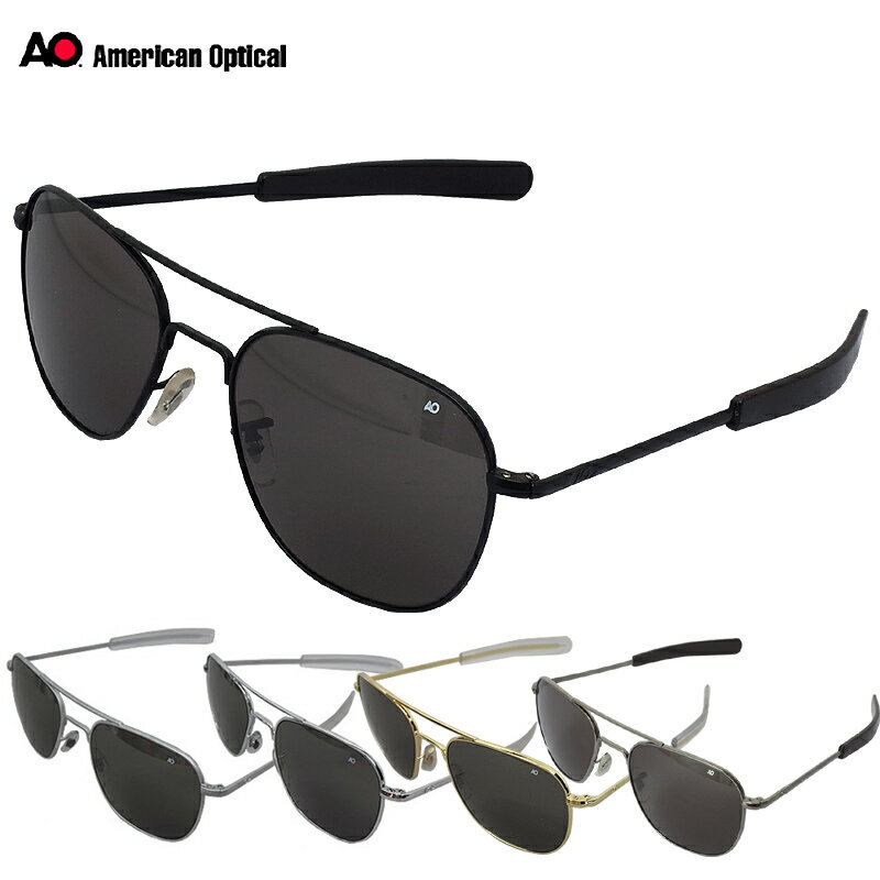 ノベルティープレゼント American Optical OP57 Original Pilot Sunglasses 57mm 全5色
