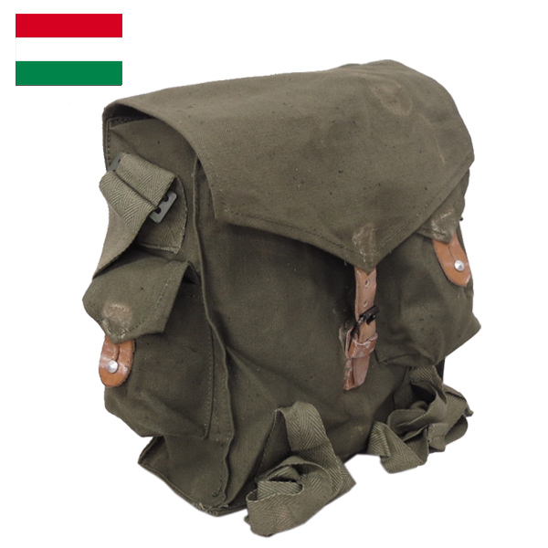 Hungary military gas mask bags dead stock