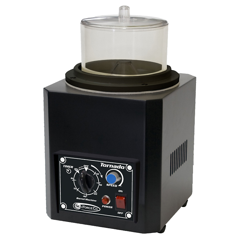 S&F(シーフォース)磁気バレル研磨機 変速式 トルネードGX Φ150