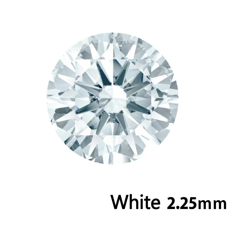 SWV(スワロフスキー)CZ RD ホワイト LE(刻印あり)2.25mm 500pcs