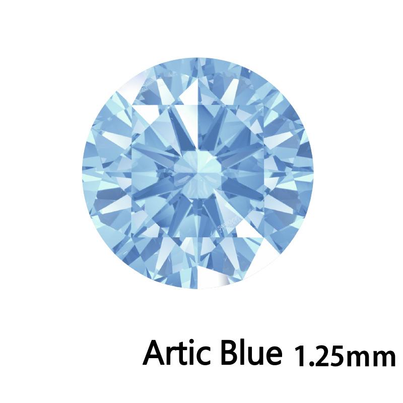 SWV(スワロフスキー)CZ RD Arc.ブルー LE(刻印あり)1.25mm 1000pcs